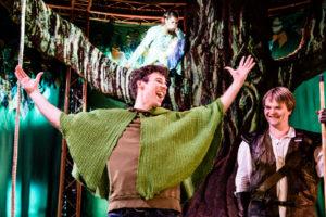 FREDLAUS: Robin er fredlaus men langt frå humørlaus. FOTO: GISLE BJØRNEBY